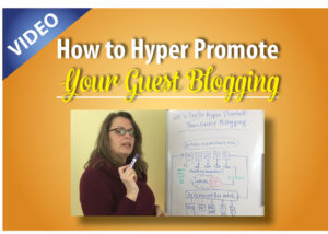 Hyper promote your guest blogging opportunity
